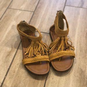 Tan Minnetonka sandals